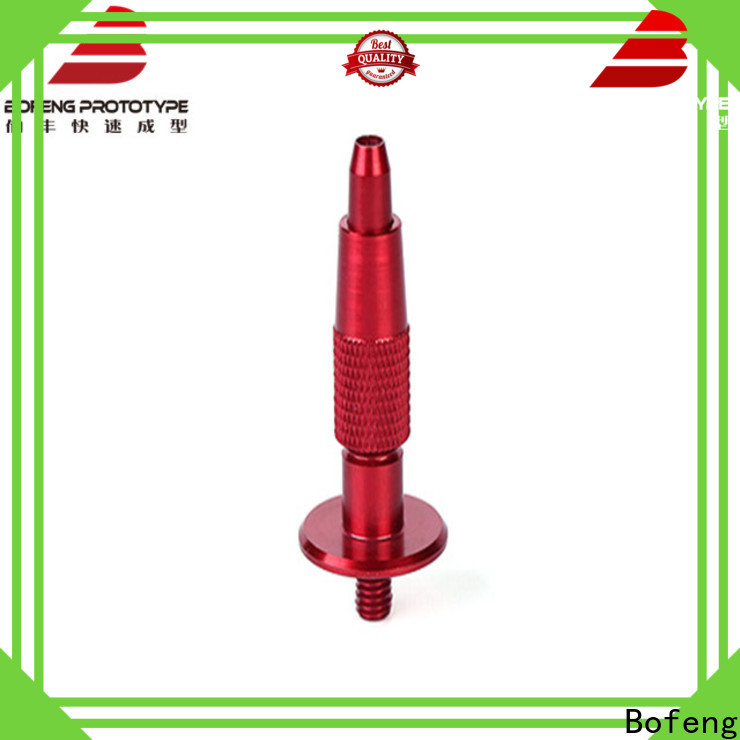 Bofeng Custom cnc turning parts process for LED cover